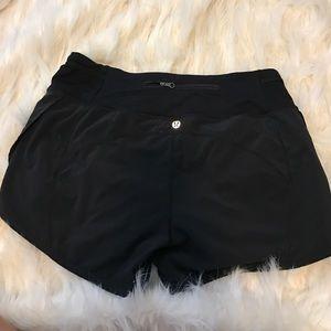 lululemon athletica Pants - Black lulu lemon shorts