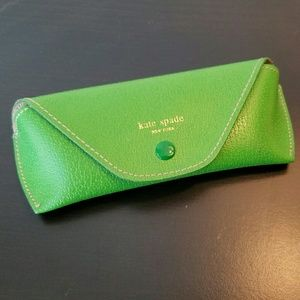 kate spade Accessories - Kate Spade Green Eyeglasses Glasses Case