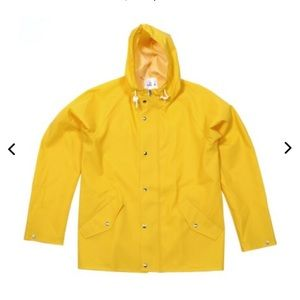 Norse Projects Jackets & Blazers - Norse Projects Classic Yellow Fishermans Raincoat