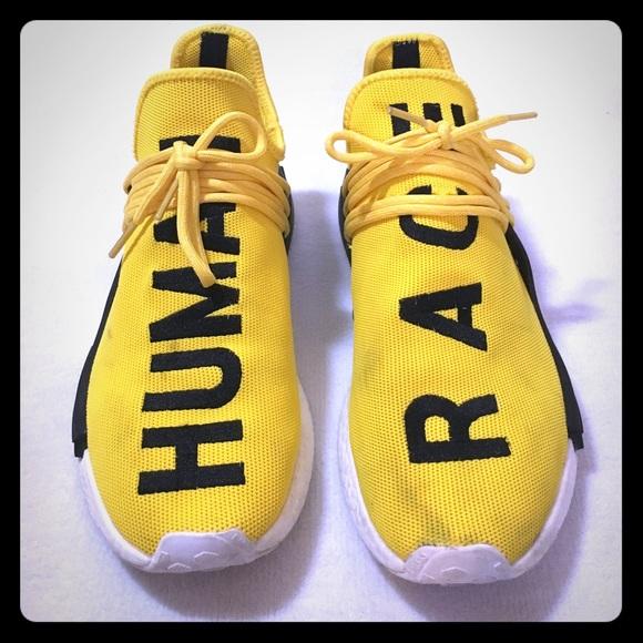 097cef6ab6118 Adidas Other - Adidas x Pharrell Humane Race NMD Yellow  black