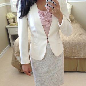 Jackets & Blazers - NWOT H&M Off White Blazer