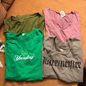 Lot of 7 shirts and 2 tanks