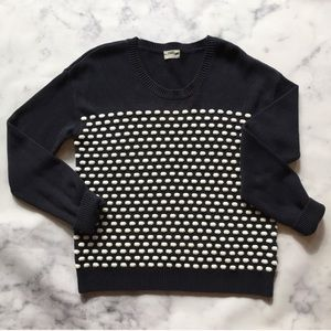 Wallace by Madewell Raised Dots Sweater Size S