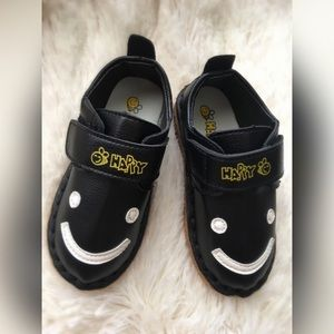 Other - Black Smiley Face Shoes  30% off bundles