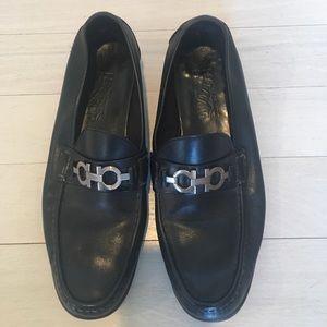 Salvatore Ferragamo Other - Ferragamo Loafers • Black Leather