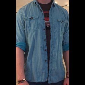 Other - Blue Button-Down Shirt