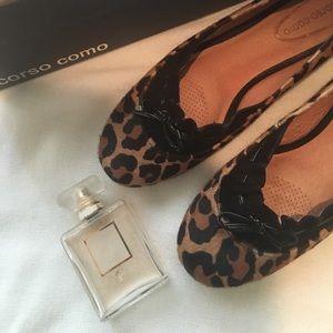 CORSO COMO leopard flats
