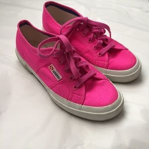 Superga Shoes - Hot Pink Superga!