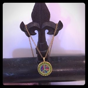 Tarina Tarantino Jewelry - Tarina Tarantino Peace Necklace