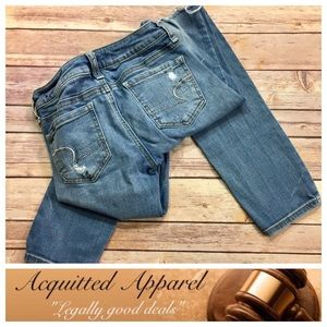 """American Eagle Outfitters Denim - [American Eagle] Distressed Skinny Jean 29"""" inseam"""