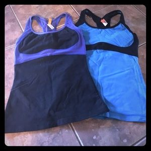 lululemon athletica Tops - Two Lucy workout tanks