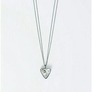 Lane Bryant Jewelry - Long Triangle Hematite Pendant Necklace