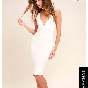 Lulu's Dresses & Skirts - Gracefully yours white dress