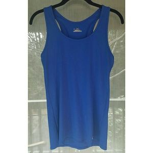 Under Armour Tops - ! Under armour blue racerback tank top