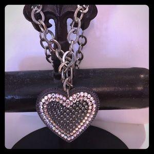 Tarina Tarantino Jewelry - Tarina Tarantino large Heart Necklace.