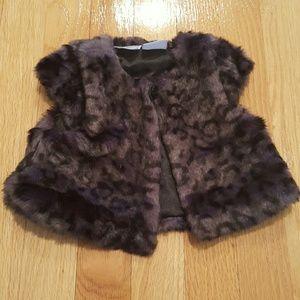 Kardashian Kids Other - Kardashian kids faux fur vest