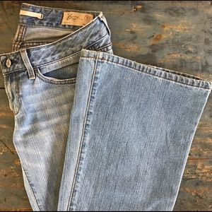GAP limited edition flare leg jeans