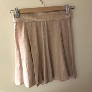Brandy polka dot pink skirt