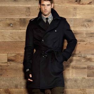 Todd Snyder Other - Todd Snyder Men's Wool Trench Coat, Large