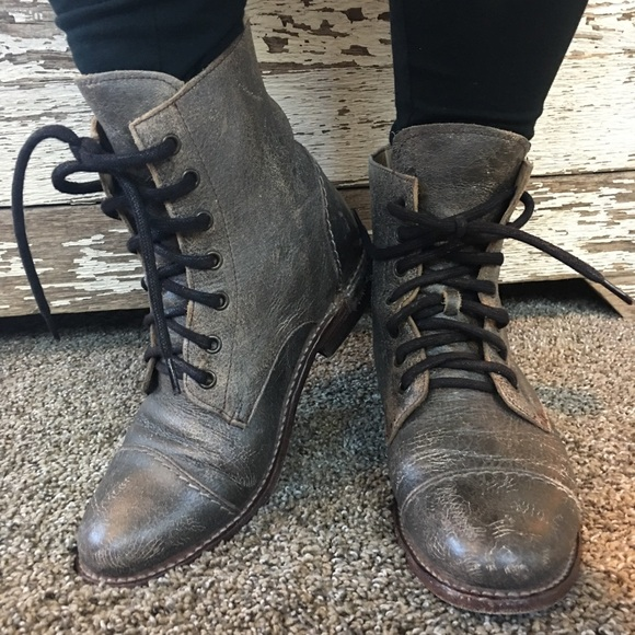 Bed Stu Shoes Sale Laurel Distressed Leather Boot 9 Poshmark