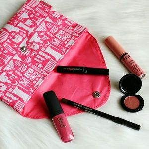 Benefit Other - Practically New Pretty in Pink Makeup Look