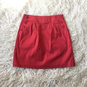 BB Dakota Dresses & Skirts - BB Dakota Red Skirt Size 6