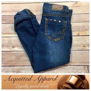 Vigoss Other - {Girls} [Vigoss] studded Cuffed crop skinny jeans