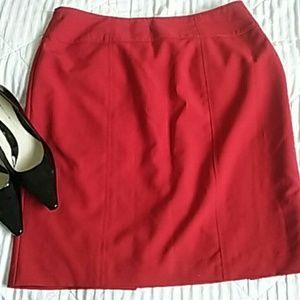 Worthington Dresses & Skirts - 💕GREAT.DEAL💕Red Skirt sz 12..