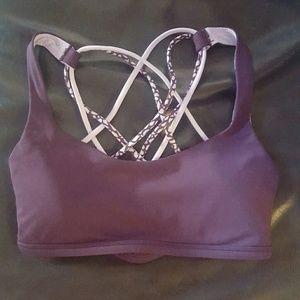 lululemon athletica Other - Lululemon Purple Free To Be (wild) Sports Bra