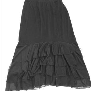 La Fete Dresses & Skirts - NWOT Mermaid Flamenco Skirt Size Large/XL