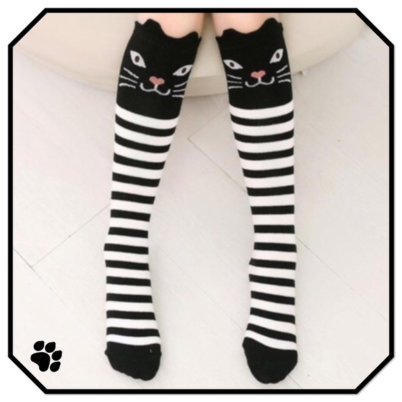 8d45d06235 Boutique Other - Girls Kitty Tube Socks