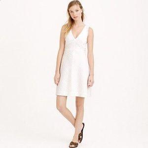 J. Crew Dresses & Skirts - 🆕 J. Crew White Chevron Pleated Dress