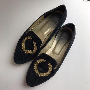 Vintage Suede Loafers