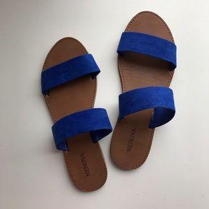Merona Blue Strap sandals