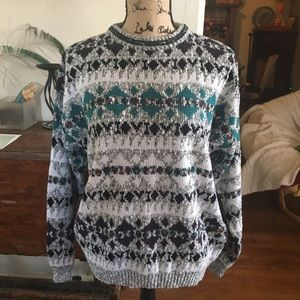 Bugle Boy Sweaters - Vintage Bugle Boy sweater size large