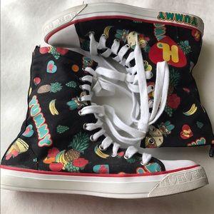 Harajuku Lovers Shoes - Harajuku High Top Sneakers