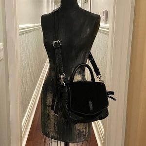Gryson Mixed Suede/Leather Handbag