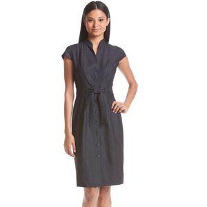 Calvin Klein Dresses & Skirts - CALVIN KLEIN BELTED BUTTON DOWN DENIM SHIRT DRESS