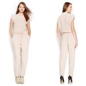 Calvin Klein Cap-Sleeve Jumpsuit