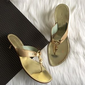 Sigerson Morrison Shoes - Sigerson Morrison Kitten Heel Thong Sandal