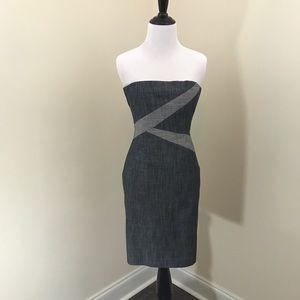 Gianni Bini Dresses & Skirts - Gianni Bini Denim Strapless Dress