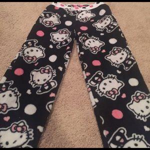 Other - Hello kitty fleece pants