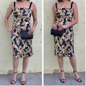 Diane von Furstenberg Dresses & Skirts - DVF Diane Von Furstenberg DRESS Yellow black SILK