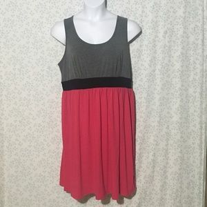 Pure Energy colorblock dress