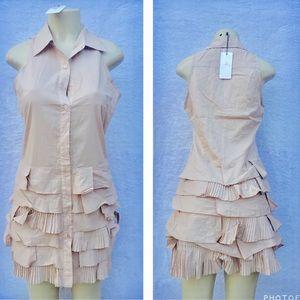 Very J Dresses & Skirts - Beige color cotton dress