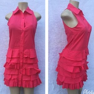 Very J Dresses & Skirts - Rose pink cotton dress