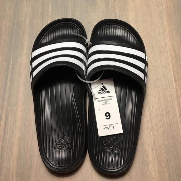 caab504cfc72 💰SUPER SALE💰Adidas Duramo Slides - Size 9 - NIB