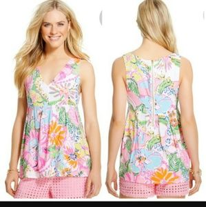 Lilly Pulitzer for Target Tops - EUC Lily Pulitzer for Target Sleeveless Blouse S