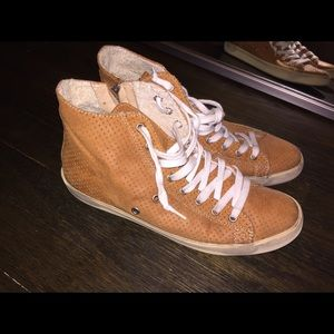 Leather Crown Shoes - LEATHER CROWN- 100% Real Leather Italian Sneakers
