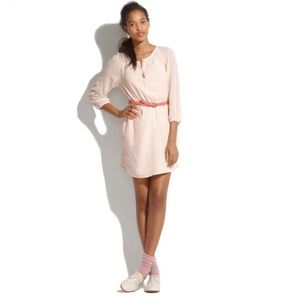 Madewell Dresses & Skirts - Madewell Silk Peasant Dress in Clipdot